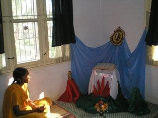 prier seul chez soi