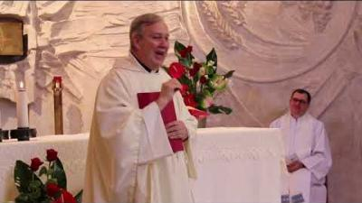 Embedded thumbnail for Homily of Fr Louis Lougen the Superior General OMI (Bicentenary Celebration) - Rome